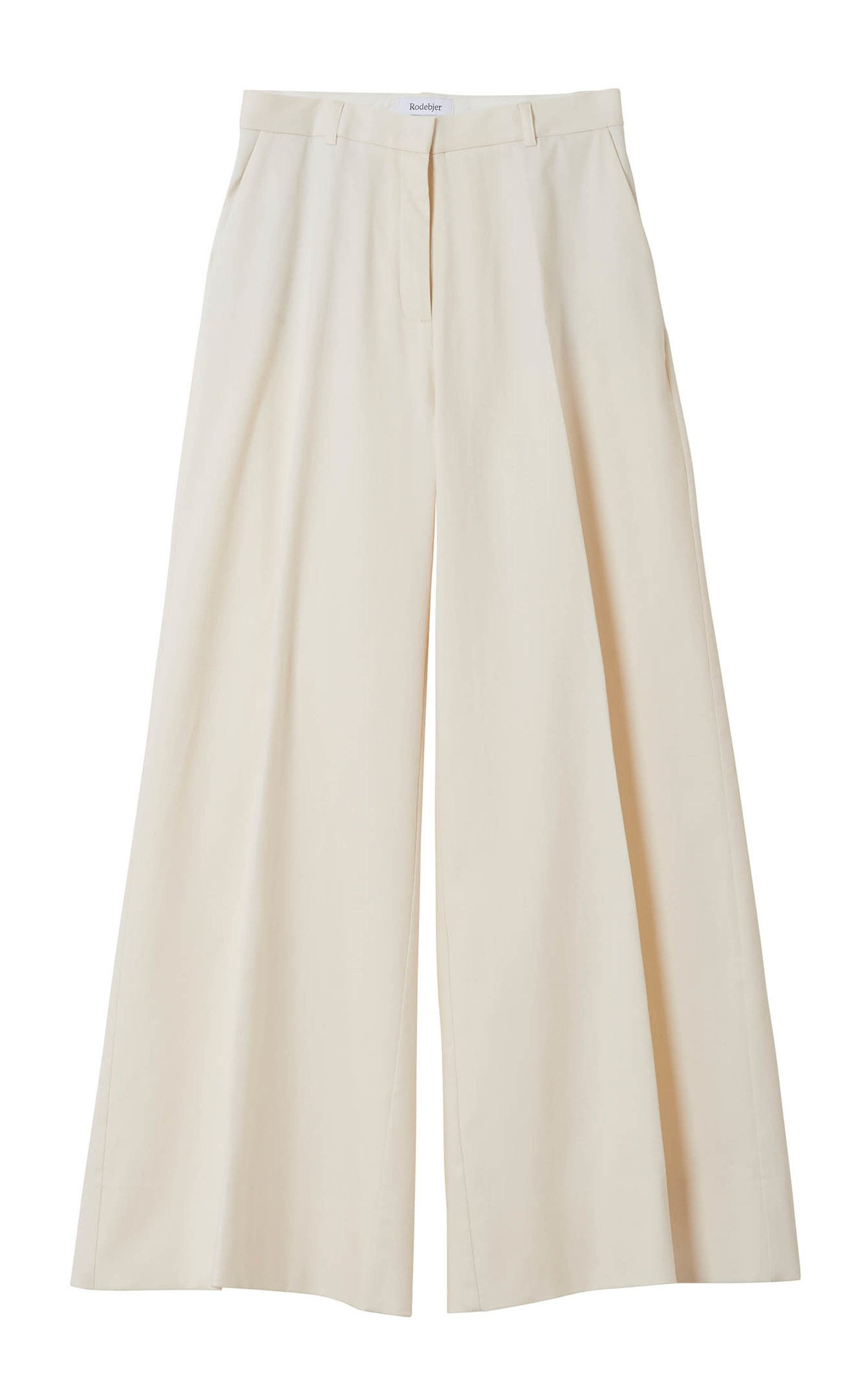 Rodebjer Riad Cotton Wide Leg Pant Size: S