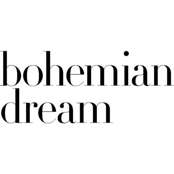 bohemian text