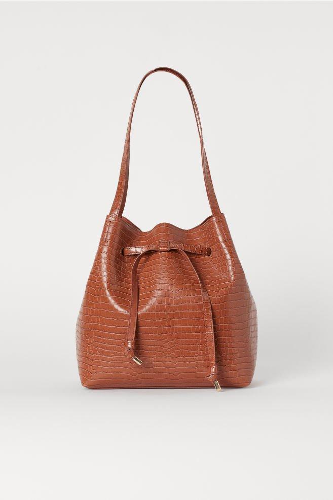 Bucket Bag - Light brown - Ladies   H&M US