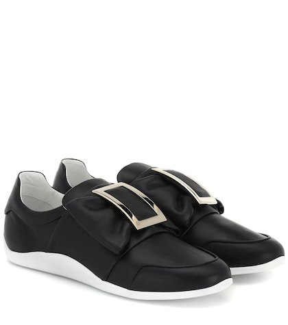 Sporty Viv' leather sneakers