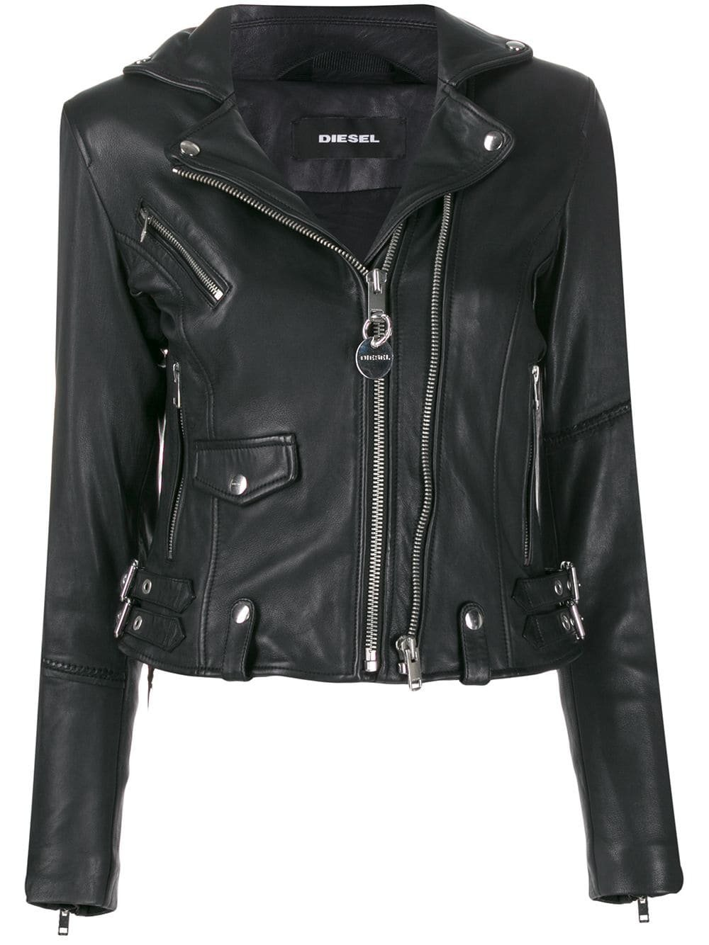 Diesel studded biker jacket £590 - Fast Global Shipping, Free Returns