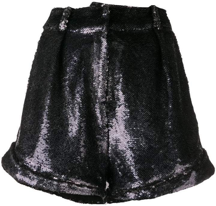 Prodigy sequinned shorts