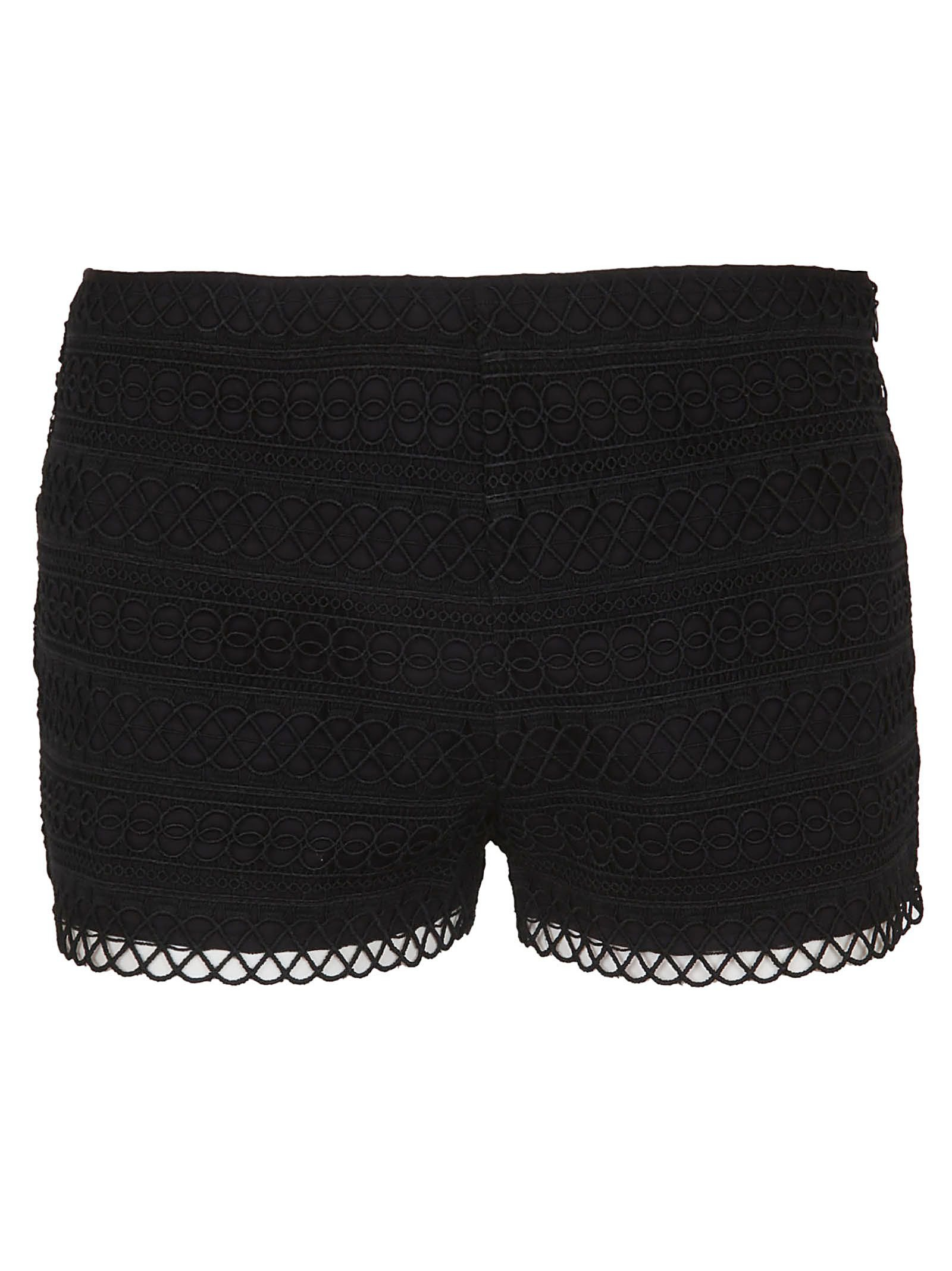 Charo Ruiz Embroidered Shorts