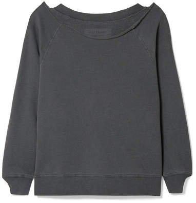 Luka Cotton-jersey Sweatshirt - Dark gray