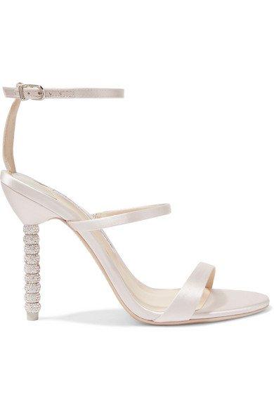 Sophia Webster   Rosalind crystal-embellished satin sandals   NET-A-PORTER.COM