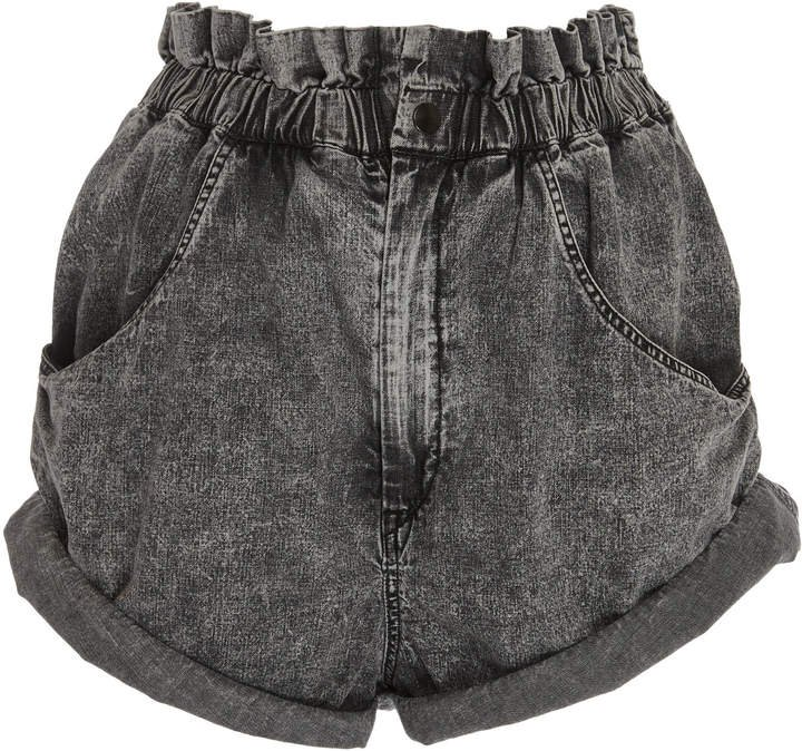 Lucio High-Rise Denim Shorts