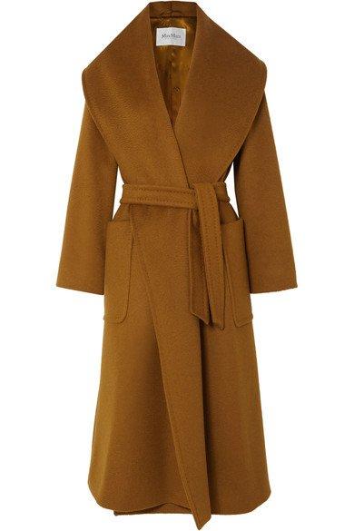 Max Mara   Belted camel hair coat   NET-A-PORTER.COM