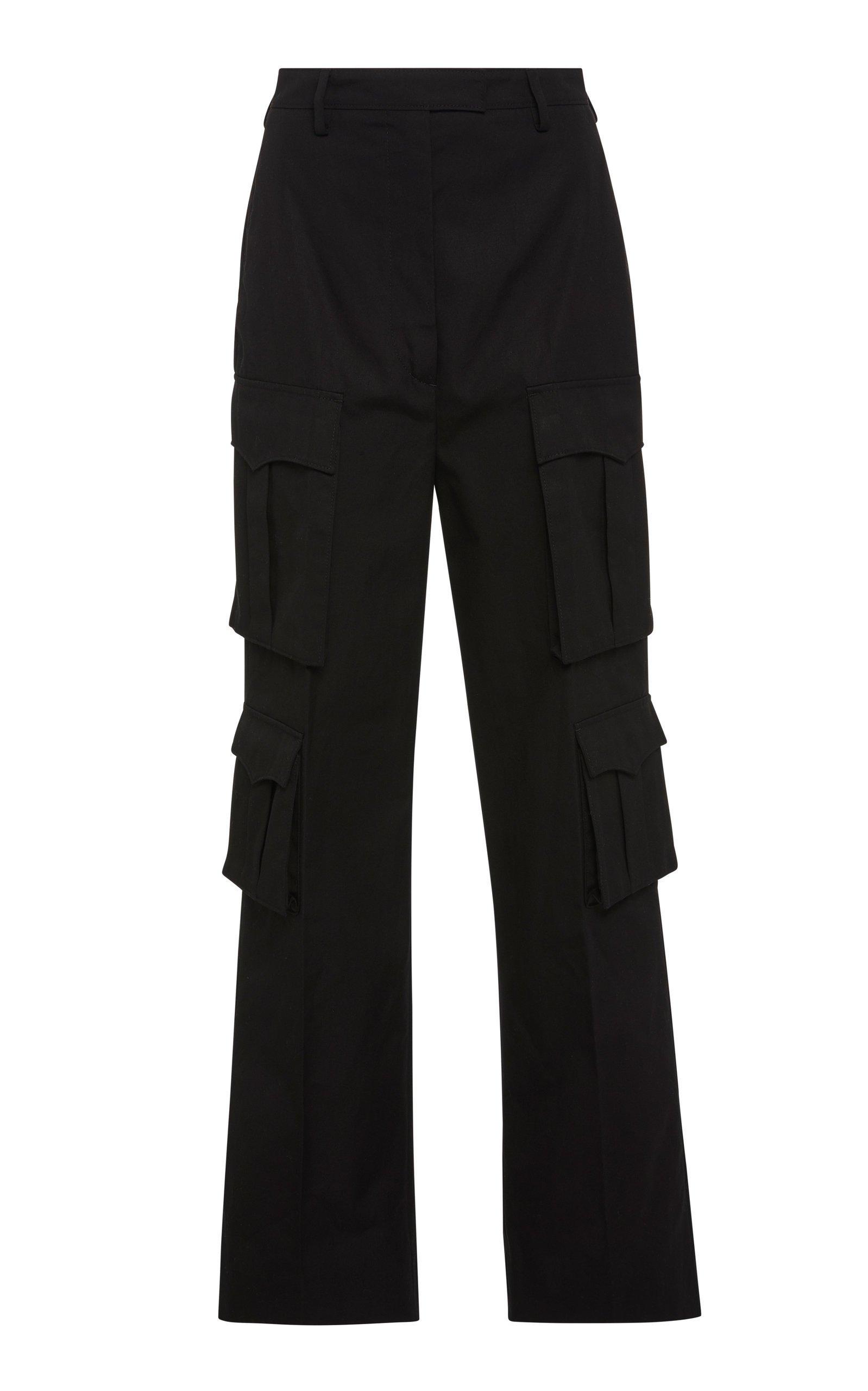 Prada Cotton-Gabardine Cargo Pants