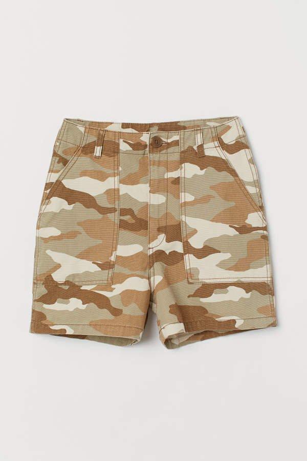 Cargo Shorts - Beige