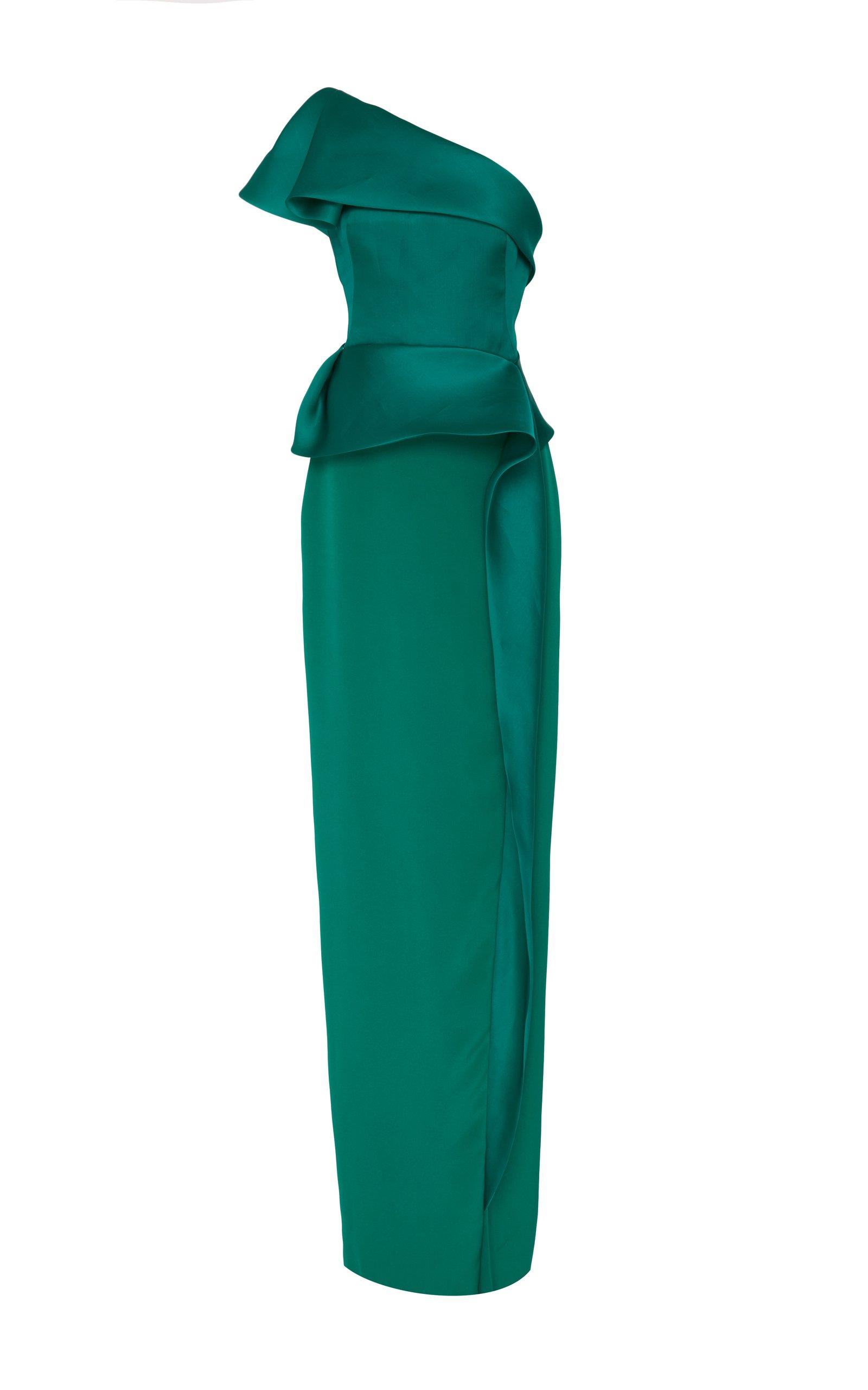 Jenny Packham- One Shoulder Column Gown
