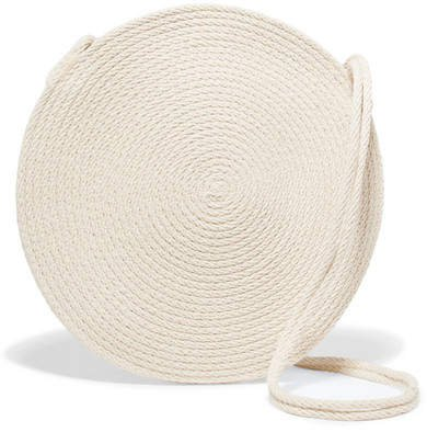 Catzorange - Circle Woven Cotton Shoulder Bag