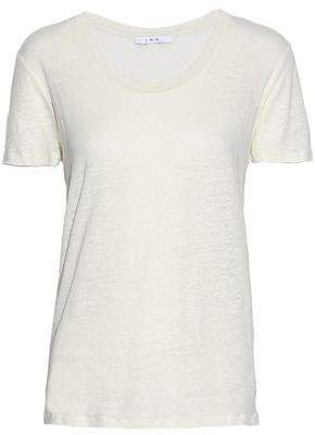 Slub Linen-jersey T-shirt