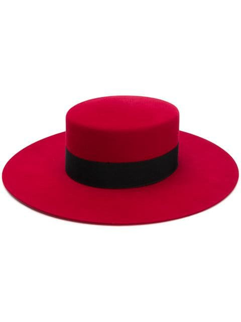 Saint Laurent Andalusian Hat - Farfetch