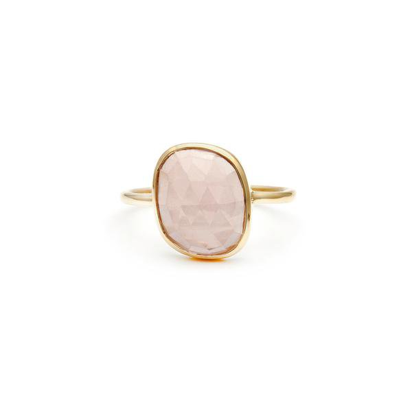 Aura Ring | Rose Quartz