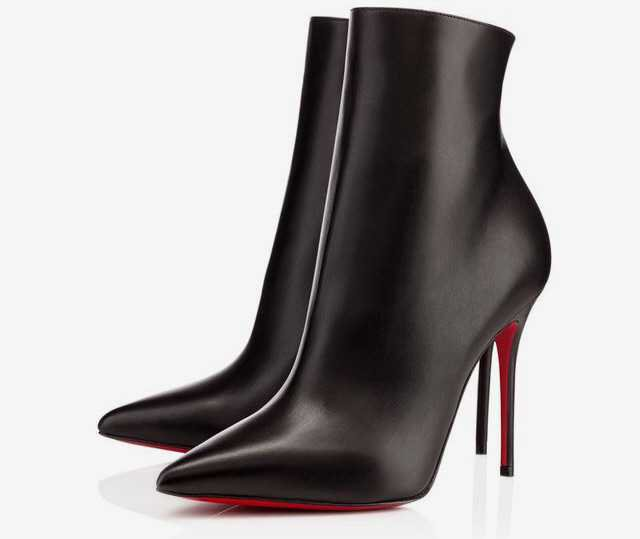 louboutin louboutins so kate ankle boot black