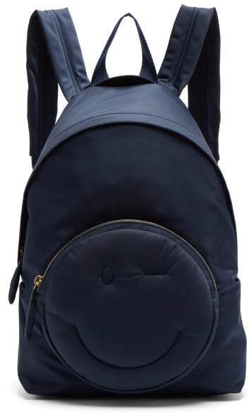 Chubby Wink Backpack - Womens - Navy