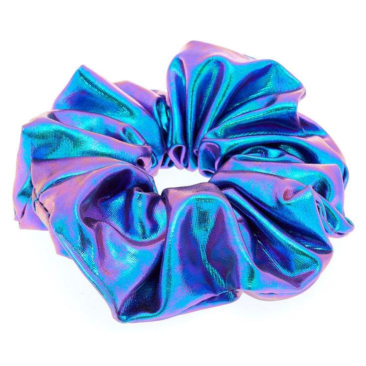 Bright Mermaid Hair Scrunchies - Lilac Purple | Claire's
