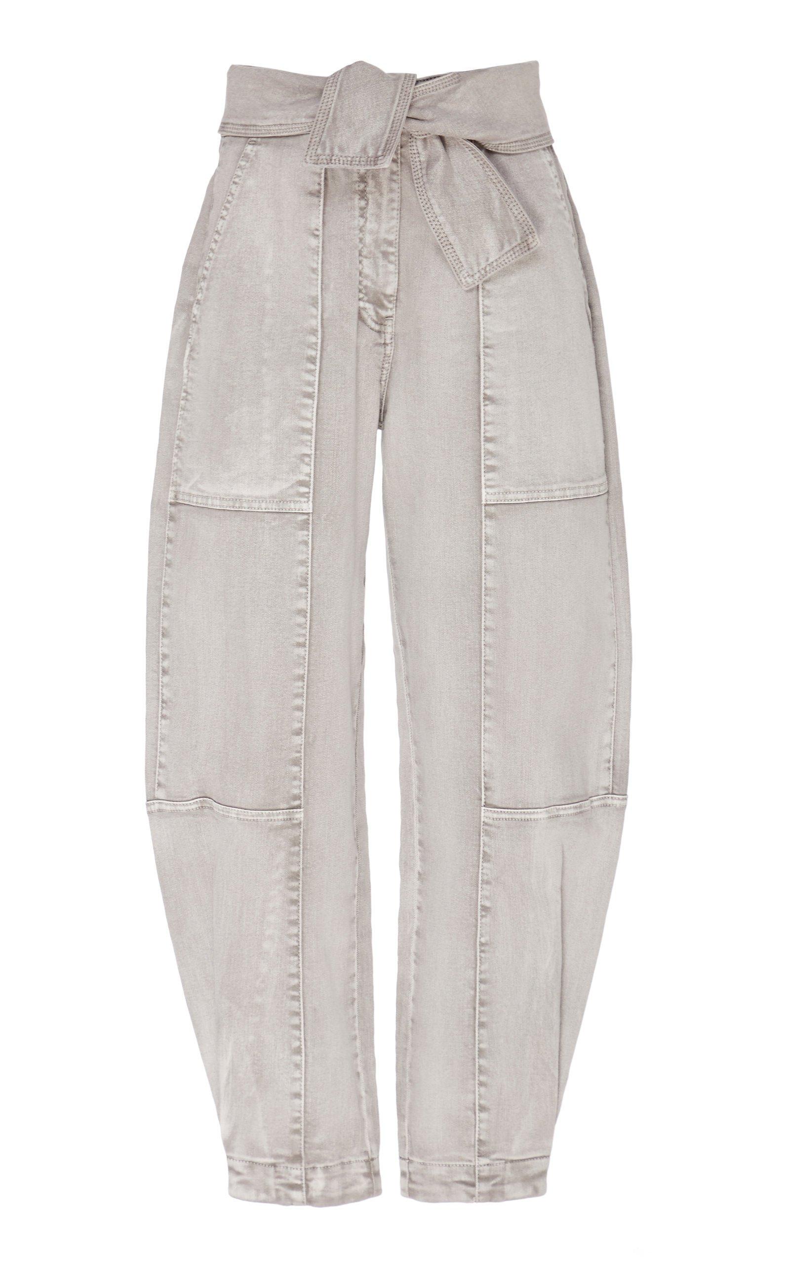 Ulla Johnson Storm Acid Wash Cropped Jean