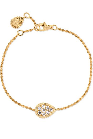 Boucheron | Serpent Bohème 18-karat gold diamond bracelet | NET-A-PORTER.COM