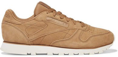 Classic Suede Sneakers - Camel