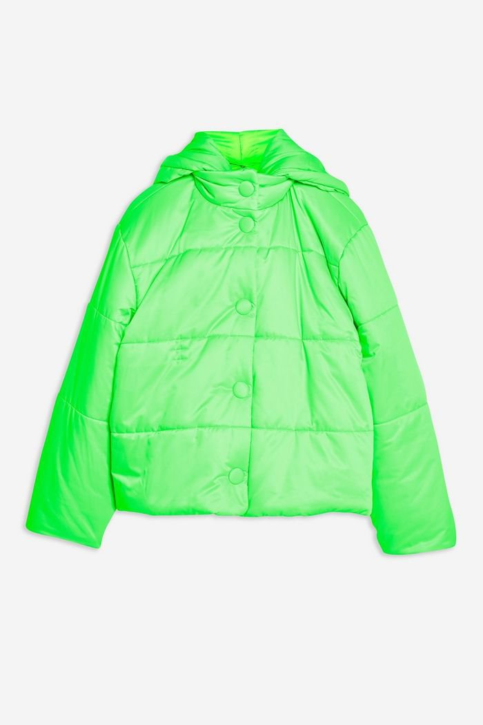 **Nylon Padded Puffer Jacket by Topshop Boutique | Topshop