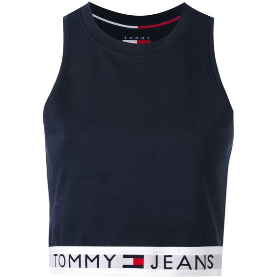 Tommy Jeans cropped tank top