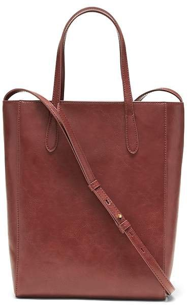 Vegan Leather Mini Tote