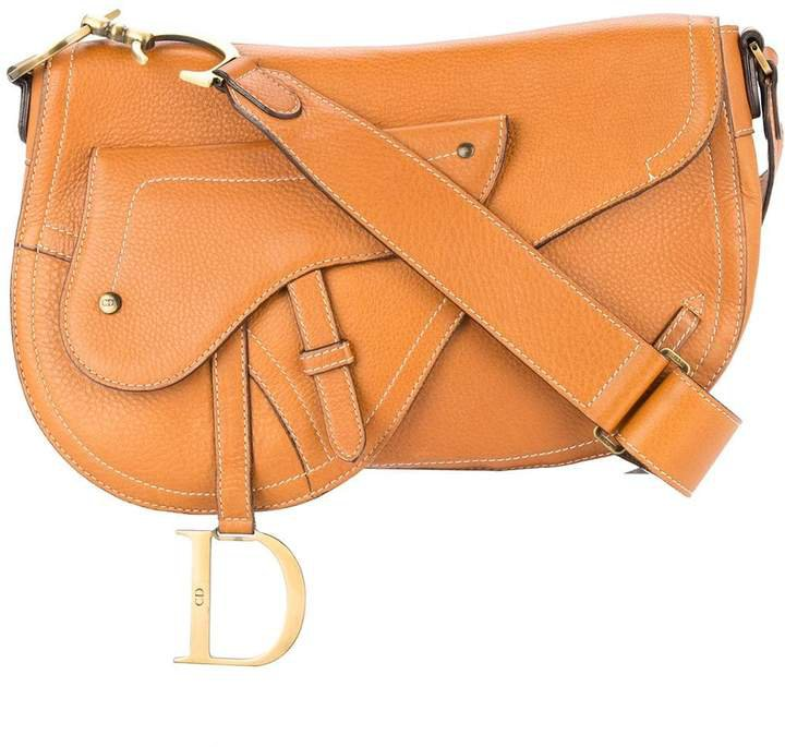 Pre-Owned saddle shoulder bag