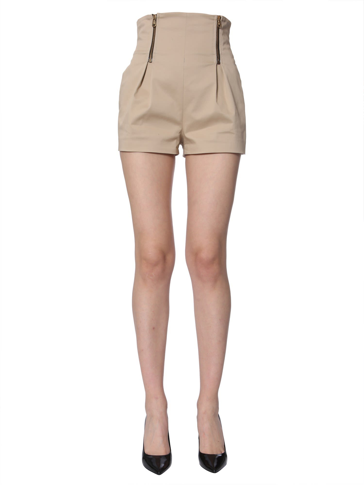 Versace High-rise Shorts