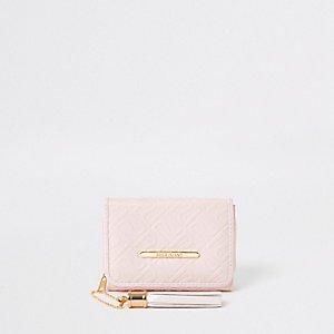 Girls pink rose gold camo trifold purse - Purses - Bags & Purses - girls