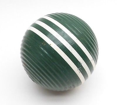 green croquet ball