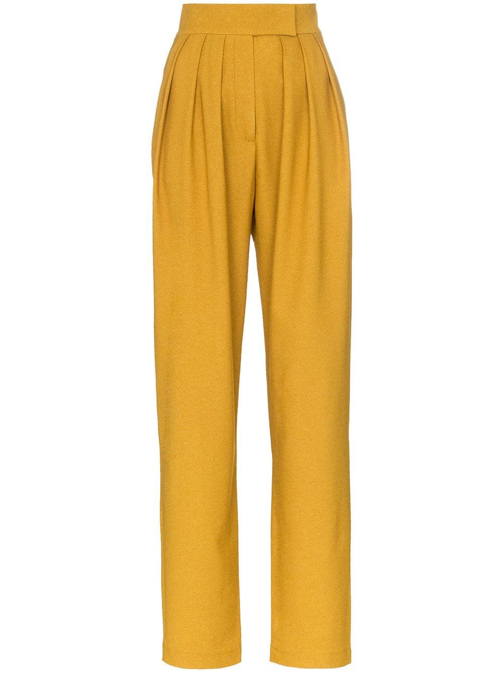 Matériel high-waisted pleated trousers £265 - Fast Global Shipping, Free Returns