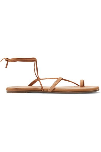 TKEES | Jo suede and leather sandals | NET-A-PORTER.COM