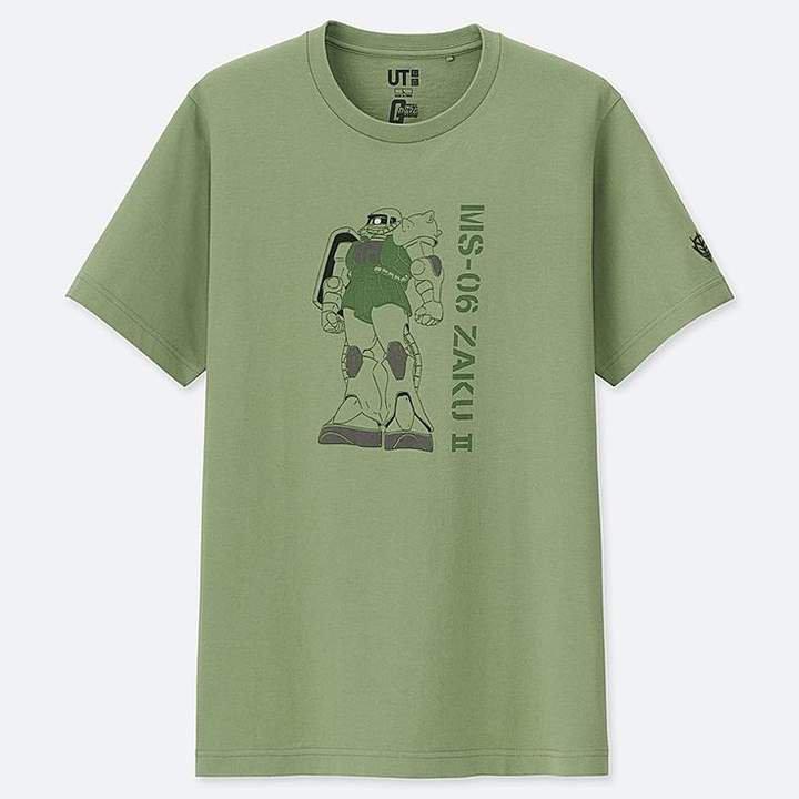 Mobile Suit Gundam 40th Anniversary Short-sleeve Graphic T-Shirt