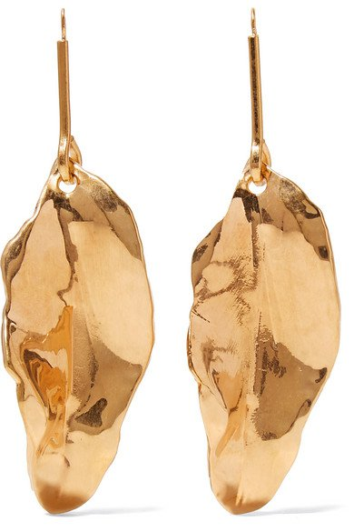 Marni | Gold-plated earrings | NET-A-PORTER.COM
