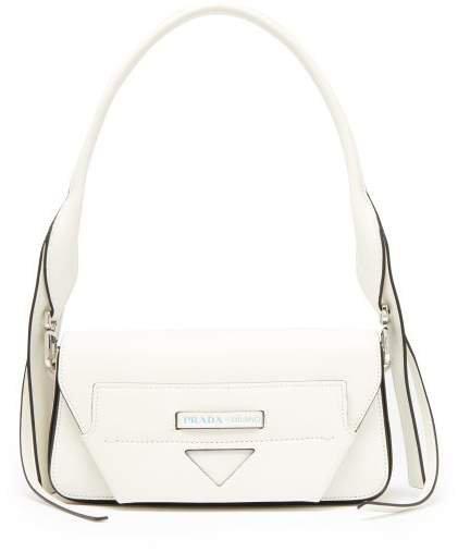 Manuelle Leather Shoulder Bag - Womens - White
