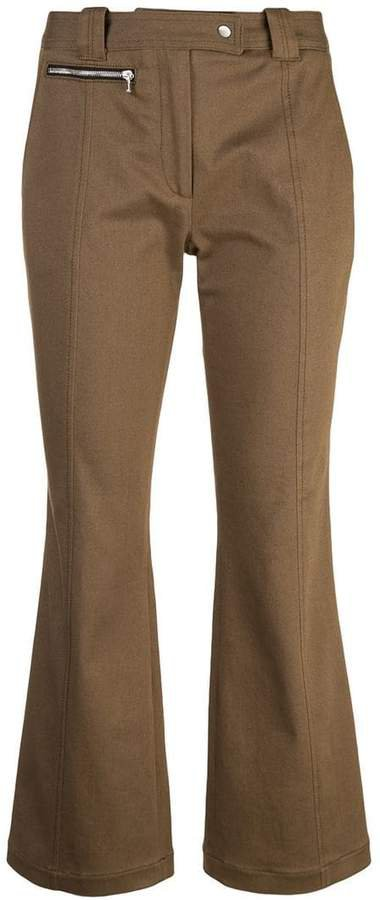 Crop Flare Pants