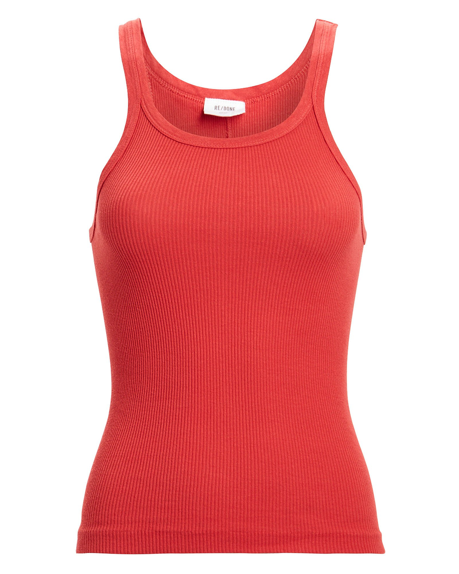 RE/DONE   Ribbed Cotton Tank   INTERMIX®