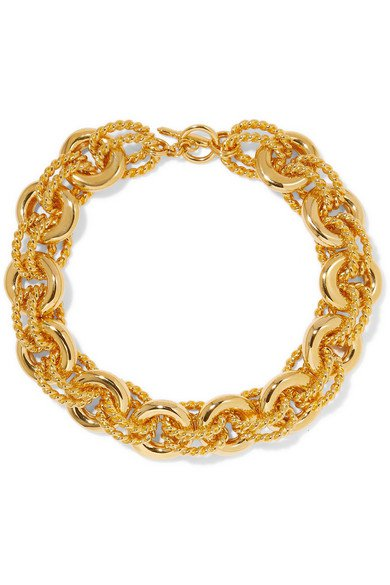Kenneth Jay Lane | Gold-tone necklace | NET-A-PORTER.COM