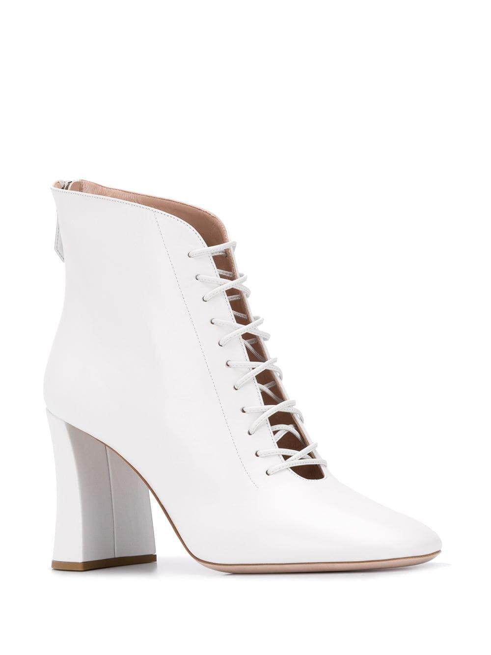 Miu Miu lace-up Detail Ankle Boots - Farfetch