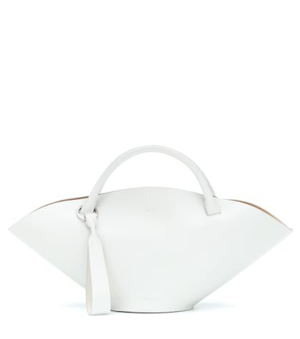 Sombrero leather tote