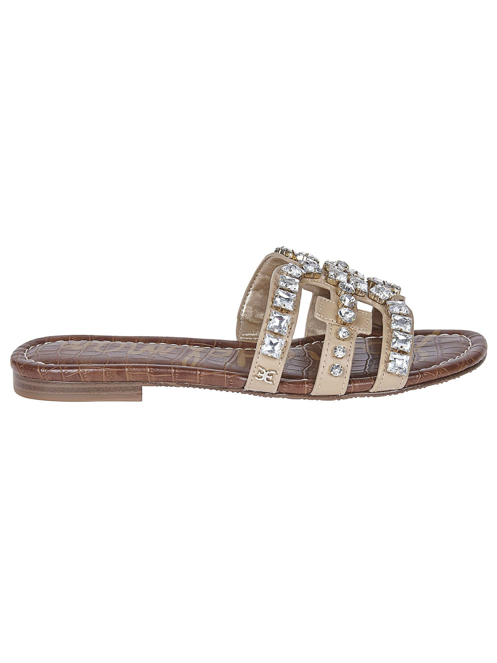 Sam Edelman Crystal Embellished Sandals