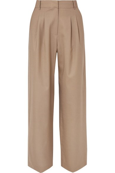 LOW CLASSIC | Wool wide-leg pants | NET-A-PORTER.COM