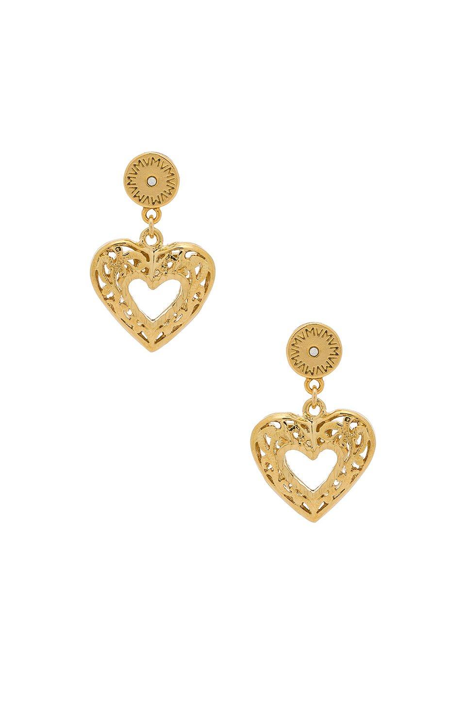 The Charlotte Heart Earrings