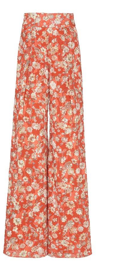 Yola High Waisted Floral Pant