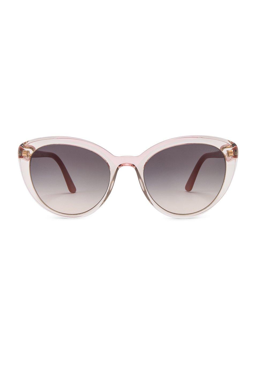 Cinema Round Acetate Sunglasses