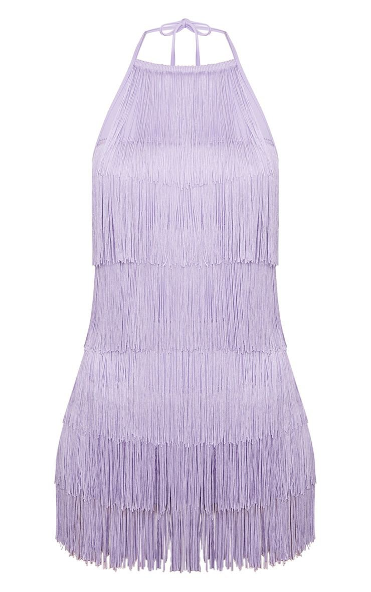 Lilac Tassel Romper | Jumpsuits & Rompers | PrettyLittleThing USA