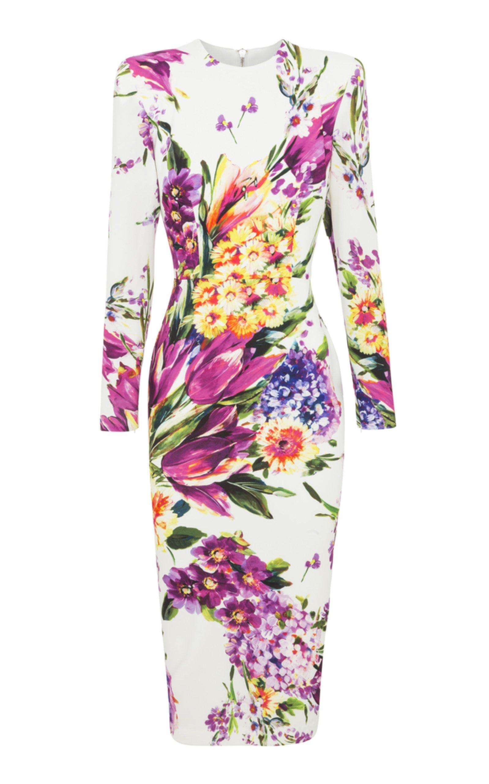 Alex Perry Manon Long Sleeve Lady Dress