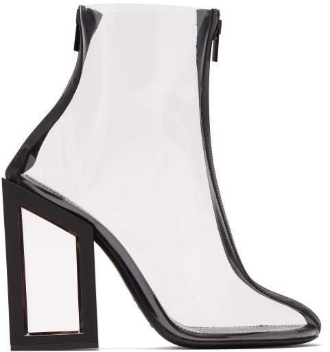 Void Pvc Ankle Boots - Womens - Black