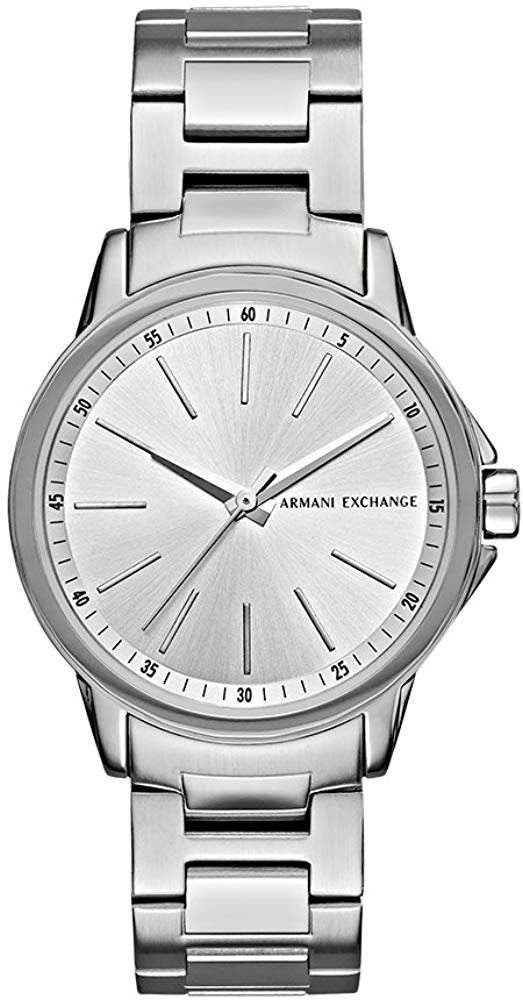 Amazon.com: Armani Exchange Women's AX4345 Silver Watch: Watches